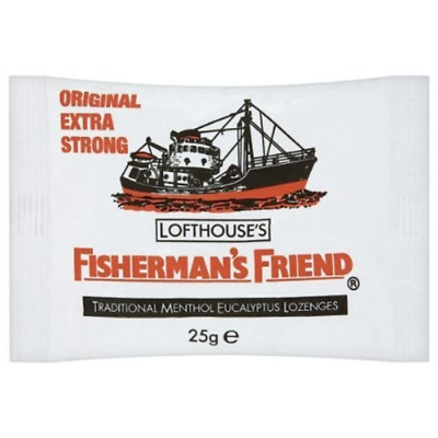 Fisherman's Friend Lozenges Original Extra Strong 25 g