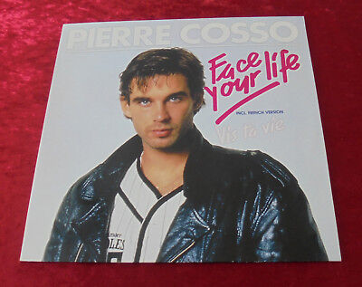 "12"" Maxi  Pierre Cosso  Face Your Life,Mint ungespielt, Polydor  Germany"
