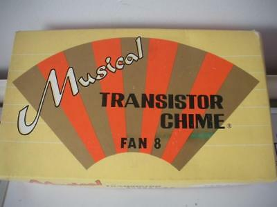 Retro Cool New Unused Mid Century Musical Door Chime Bell Original Vintage