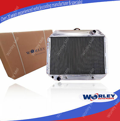 3 rows aluminum Radiateur radiator for FORD F100 F250 F350 Bronco V8 1967-1981