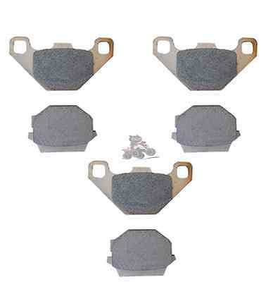 QBRUS Aftermarket Sintered Front Brake Pads to fit a Honda TRX 400 Quad Parts