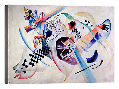 Wassily Kandinsky Composition N. 224 Stampa su tela Canvas effetto dipinto