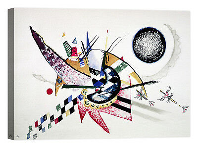Wassily Kandinsky Watercolor Painting Stampa su tela Canvas effetto dipinto