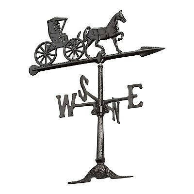 """24"""" Country Doctor Accent Weathervane - Black"""