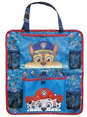 Paw Patrol Car Organiser Kids Childrens Back Seat Toy Storage Holder Hanging Bag