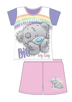 NEW Girls Older Girls Me To You. Tatty Teddy Shortie Pyjamas Set 5 -12 years