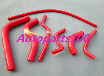 Red Silicone Radiateur radiator Heater Hose for SUZUKI SAMURAI 1986-1995