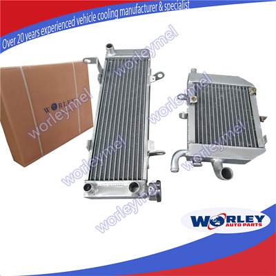 L&R Radiateur radiator for HONDA RVF400 NC35/NC30 VFR400 lower with fan bracket