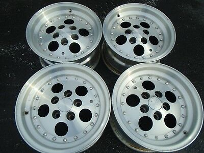 VINTAGE 60X60 Mag Aluminum Wheel Rims Set Of 60 Bolt Pattern 60x6060 Fascinating Jeep Yj Bolt Pattern