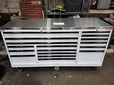 Lista Tool Cabinet Toolbox Mobile Tool Storage Mechanics Box 17 Drawer