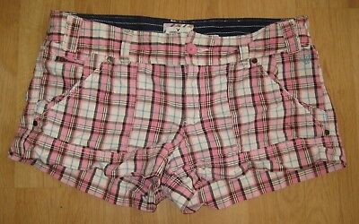 American Eagle Outfitters Women's Plaid Summer Shorts Size 12 R-Cotton-AEO