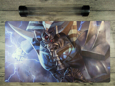 Card Of God-Obelisk the Tormentor YuGiOh Playmat OCG CCG TCG Mat Free Best Tube