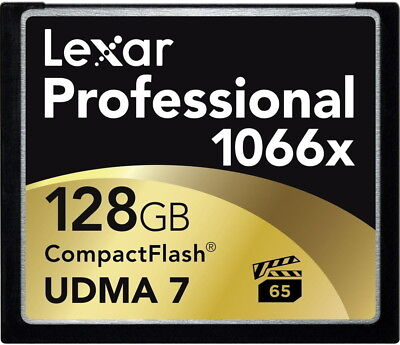 Lexar CompactFlash memory card Professional 1066x 160MB/s 128GB CF Compact Flash