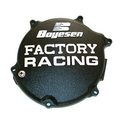 2003-2005 Kawasaki Kx125 Boyesen Clutch Covers - Black CC-11AB