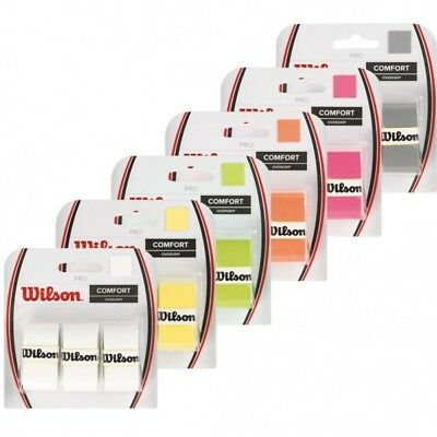Wilson Pro Overgrip 3-Pack (All Colors!)