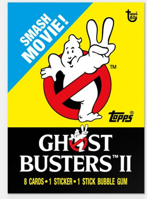 2018 Topps Wrapper Art #26 Ghostbusters 2 1989 Card 80th Anniversary PR-237