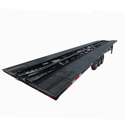 Car Hauler 8.5 X 53 Black Gooseneck Wedge Trailer