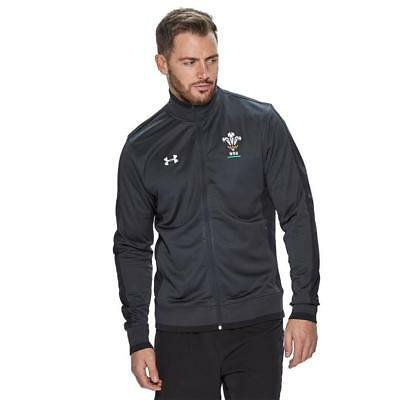 New Under Armour Wales Ru Men's Track Jacket Grey