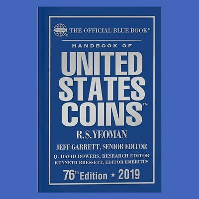 2019 Blue Book Price Guide of United States Coins Hardcover