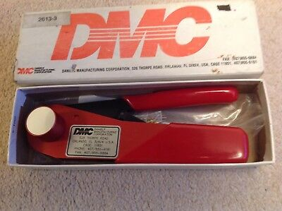 DMC (Wadsworth) Daniels Crimping Tool No. 290-2000, Wire 20,22,24 awg Sub d type