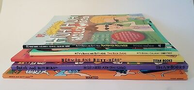 5 Beavis and Butthead books / graphic novels