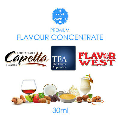 Flavour Concentrate: Capella / Flavor West / The Flavor Apprentice - 30ml