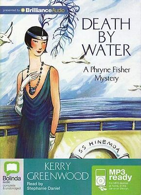 Kerry GREENWOOD / [Phryne Fisher 15] DEATH by WATER   [ Audiobook ]