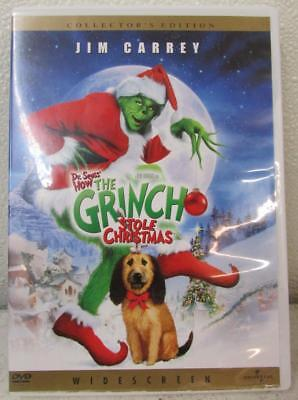 How the Grinch Stole Christmas (DVD, 2001, Widescreen) ~122