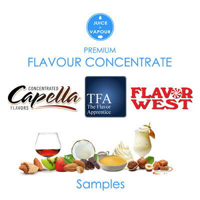 Flavour Concentrate: Capella / Flavor West / The Flavor Apprentice - 5ml Samples