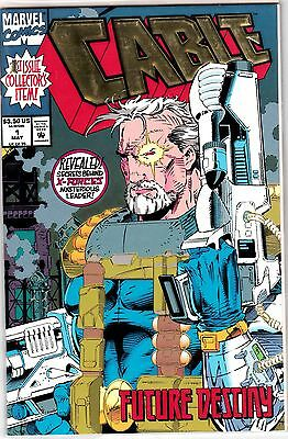 Cable #1 Embossed Cover  Unread #42378 Br1D