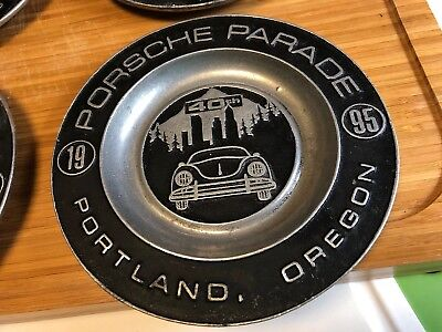 40th Porsche Parade 1995 Portland Oregon Plaque