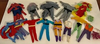 """Mego Worlds Greatest Superheroes Clothing Lot * 8"""" Scale * 100% All Original *"""