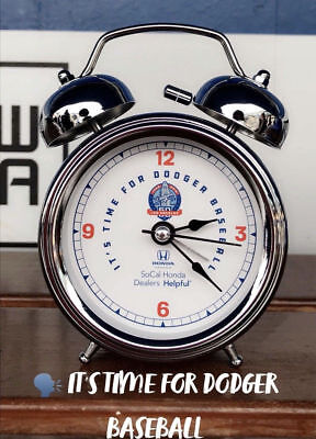 Dodgers ITFDB Alarm Clock SGA 4/24/18-New!