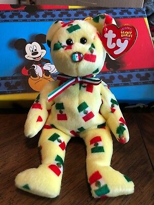 Ty Beanie Baby Pinata  (Flag on Nose)