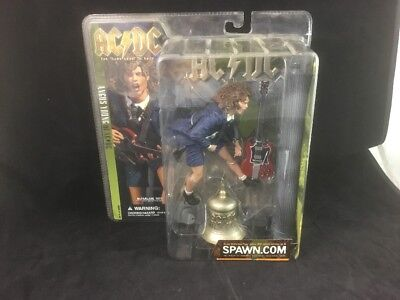 AC/DC For Those About To Rock ANGUS YOUNG Figure  McFarlane Toys 2001 *NEW*