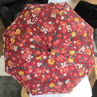 Vintage Umbrella With Tote