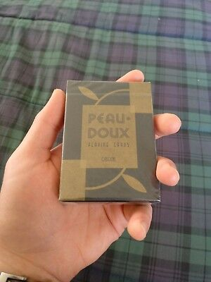 Peau Doux Playing Cards by Art of Play - sealed, in cellophane, excellent cond.