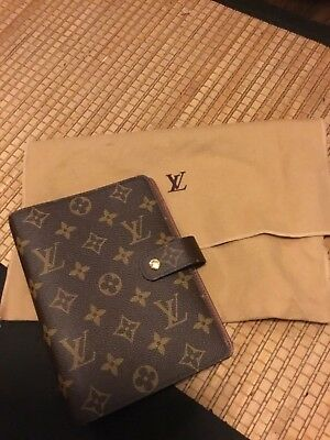Authentic LOUIS VUITTON AGENDA planner MM never used Mint (2017)