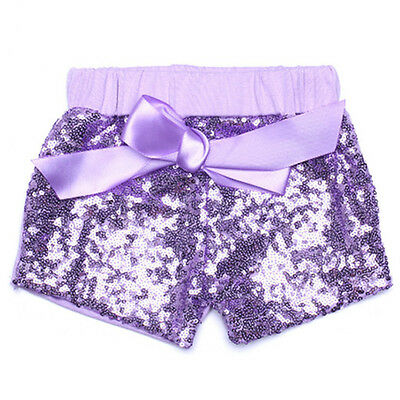 Kids Baby Girls Sequins Shorts Summer Party Short Pants Cotton Costume Hot Sale