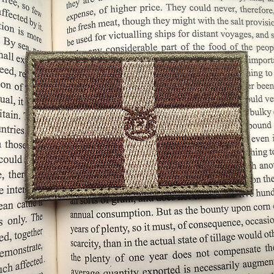 Dominican  FLAG AIRSOFT ARMY MORALE TACTICAL MILITARY BADGE PATCH
