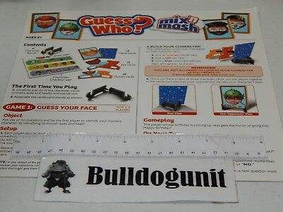 Guess Who Board Game 300 Picclick