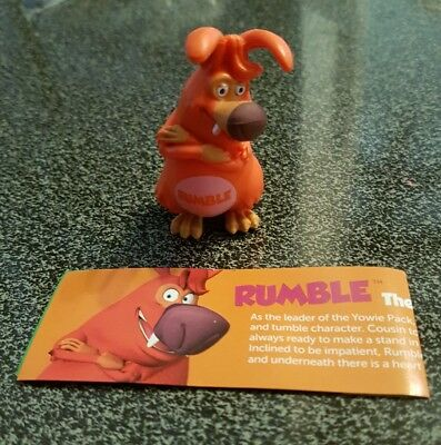 """Yowies All American  2017 Ranger Series 2 """"RUMBLE the yowie"""""""