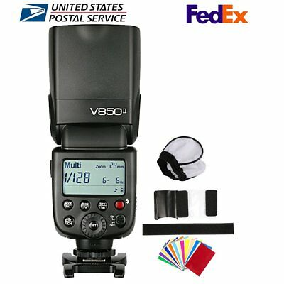 Godox V850II 2.4G GN60 Camera Flash Speedlite for Canon Nikon Sony Olympus Lumix