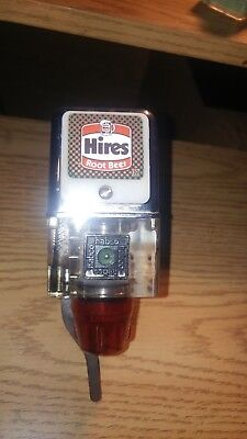 VINTAGE HIRES ADVERTISING Carbonic SODA FOUNTAIN BAR TAP DISPENSER McCann's