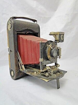 Folding No. 3 Pocket Eastman Kodak Co Model F Made In Usa No. 1002510 B1777