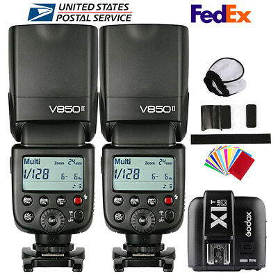 Godox V850II 2.4G Camera Flash Speedlite X1T-C Transmitter for Canon 750D 810D