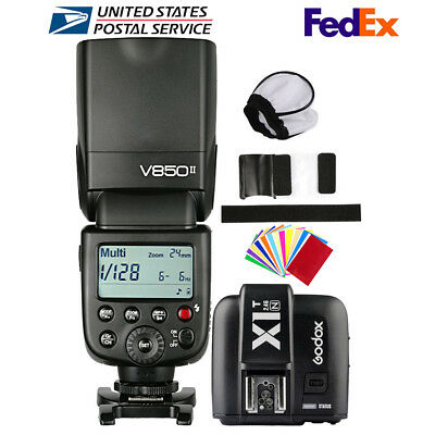 Godox V850II 2.4G Camera Flash Speedlite X1T-N Transmitter For Nikon D810 D750