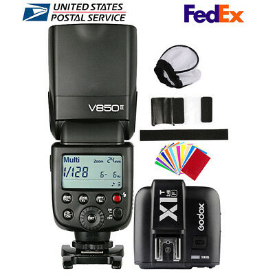 Godox V850II 2.4G Camera Flash Speedlite X1T-F For Fujifilm X-T2 X-T20 X-Pro1