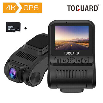 32GB Dual Lens Dash Cam HD 1080P 340° Front Rear View DVR Recorder Car Camera AU