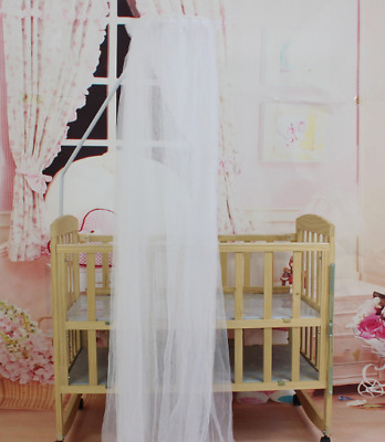 Baby Bed Mosquito Hanging Net Mesh Dome Curtain Net for Toddler Crib Cot Canopy